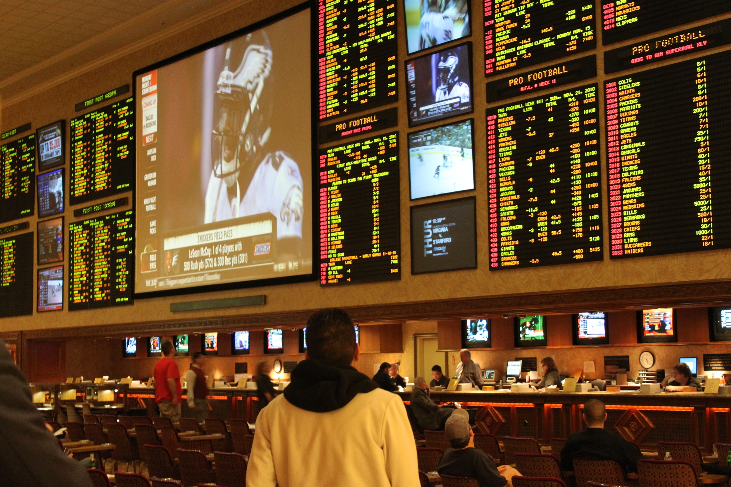 Sports betting line explained
